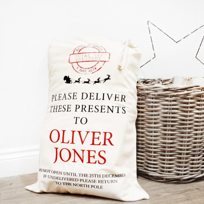 Santa Sacks - Eco-friendly - £8.95