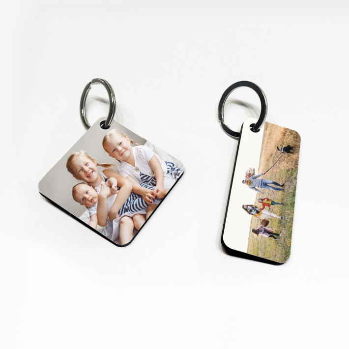 Photo Key Rings - Wooden - £4.95