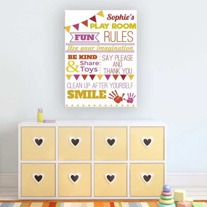 Kids Room Canvases