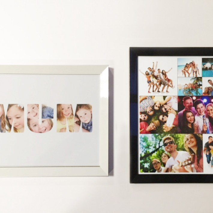 Photo Collage Poster Prints