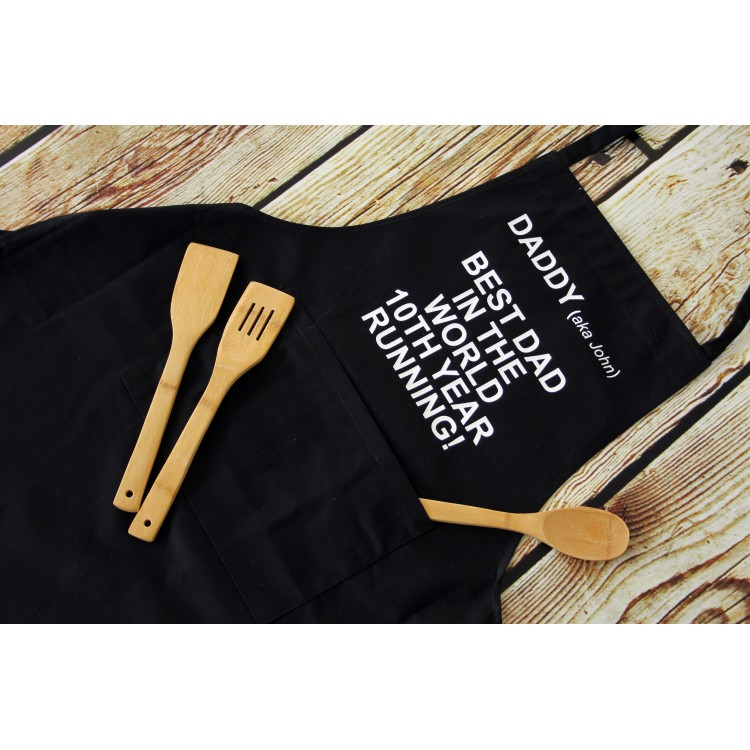 Personalised Apron Adult - Navy