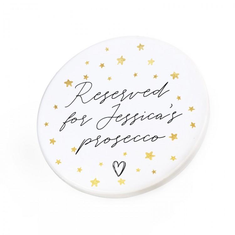 Personalised Ceramic Coaster