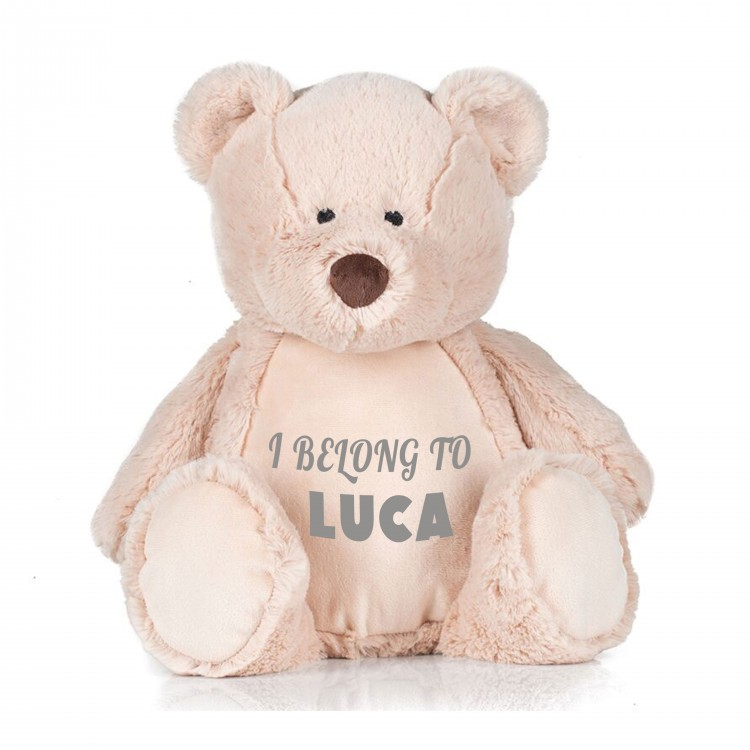 Personalised Bear Zippie