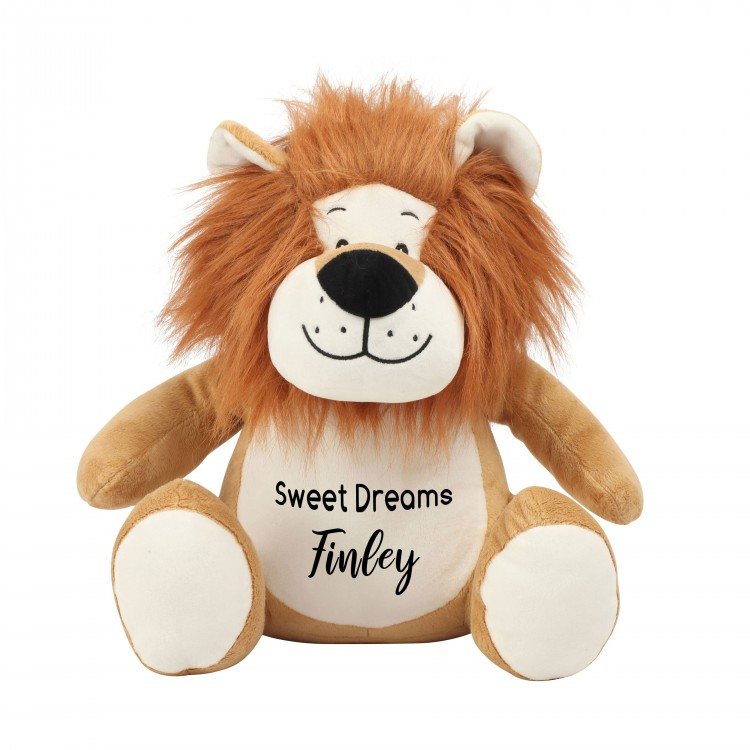 Personalised Lion Zippie