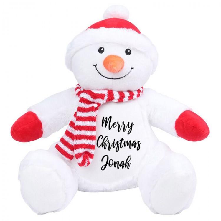 Personalised Snowman Zippie