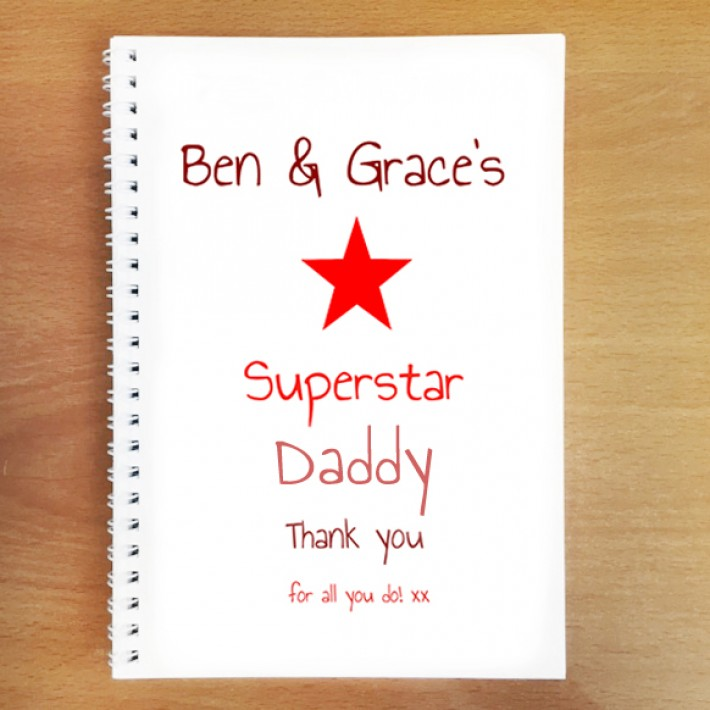 Notebooks for Dad