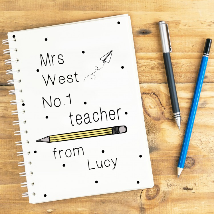 No. 1 Teacher Notebook A4