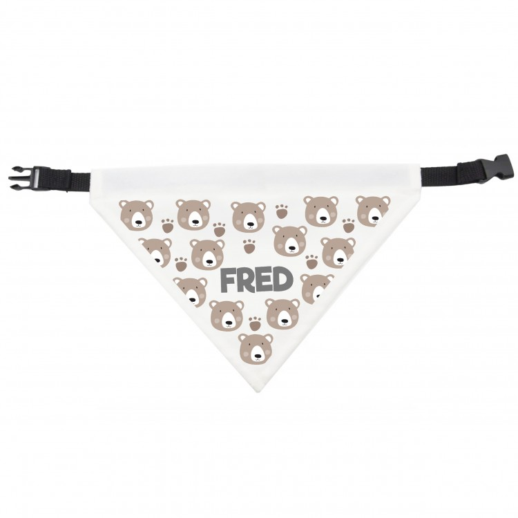 Dog Bandana Teddy Bear Design