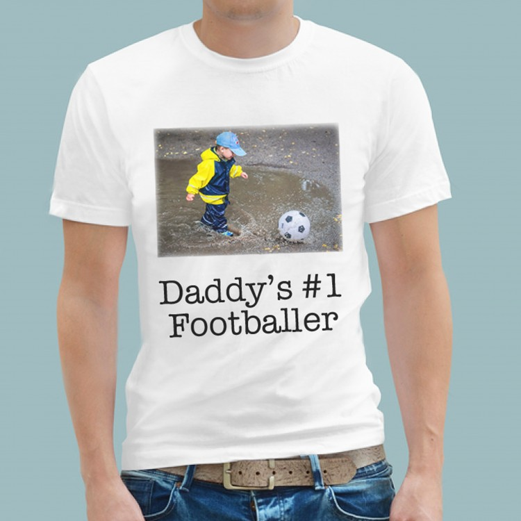 T Shirt - Football No.1 Player