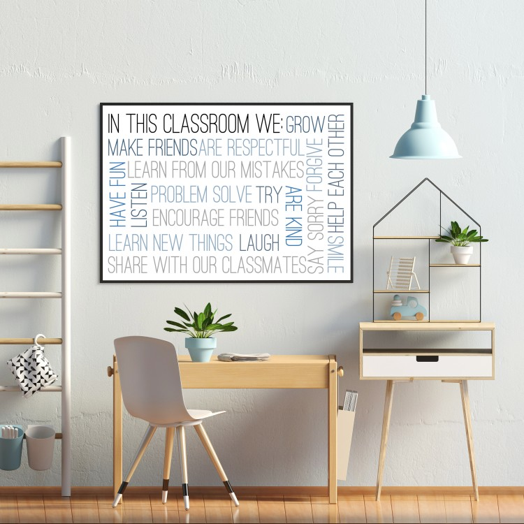 In This Classroom Typography Poster - from £1.95