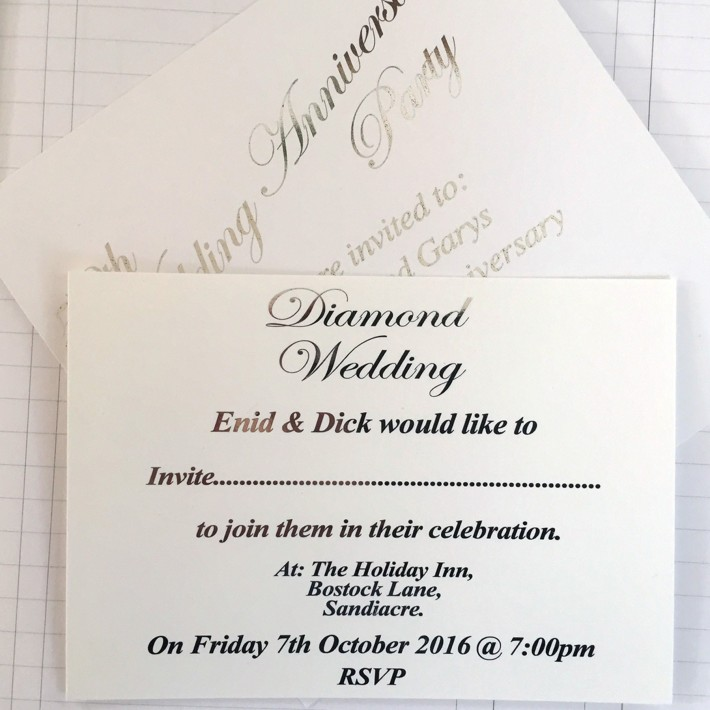 Celebrations, Card & Invites