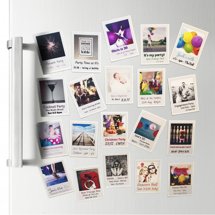 Magnetic Invites - Sheet of 21