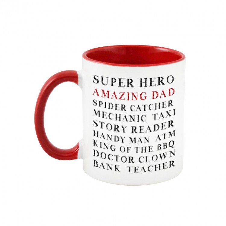 Personalised Mug - Red