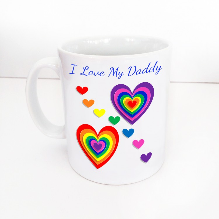 I Love My Daddy Mug