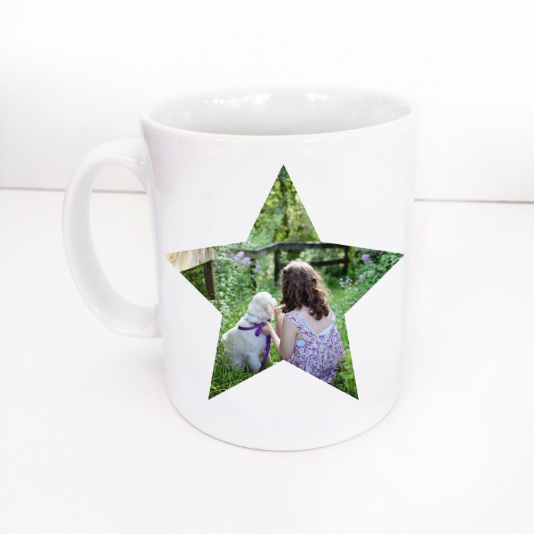 Single Image Star Mug