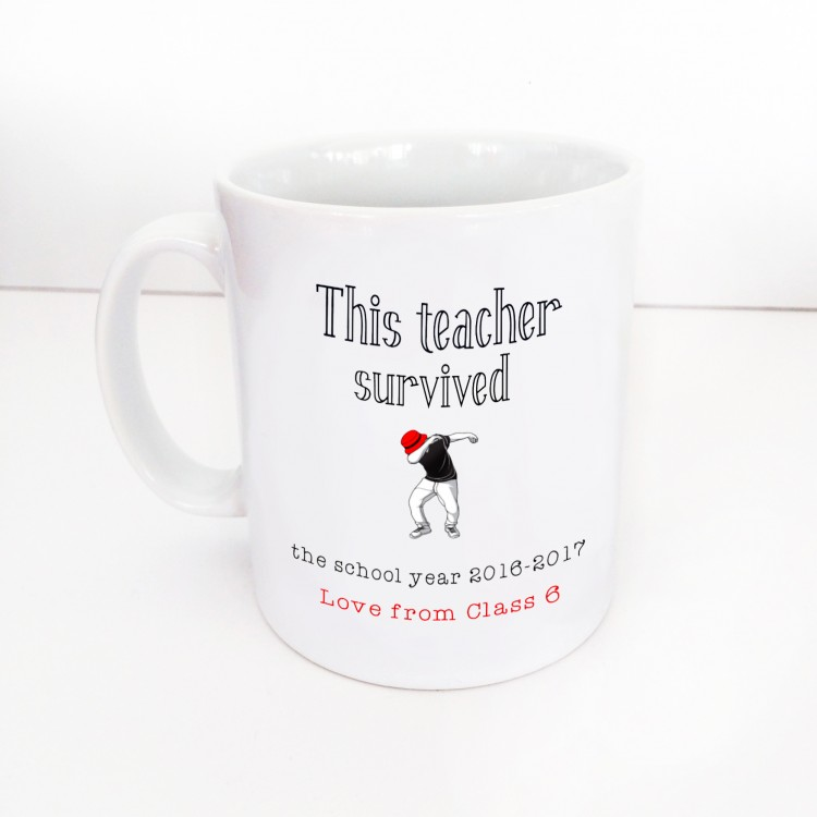 Teacher Survival Mug