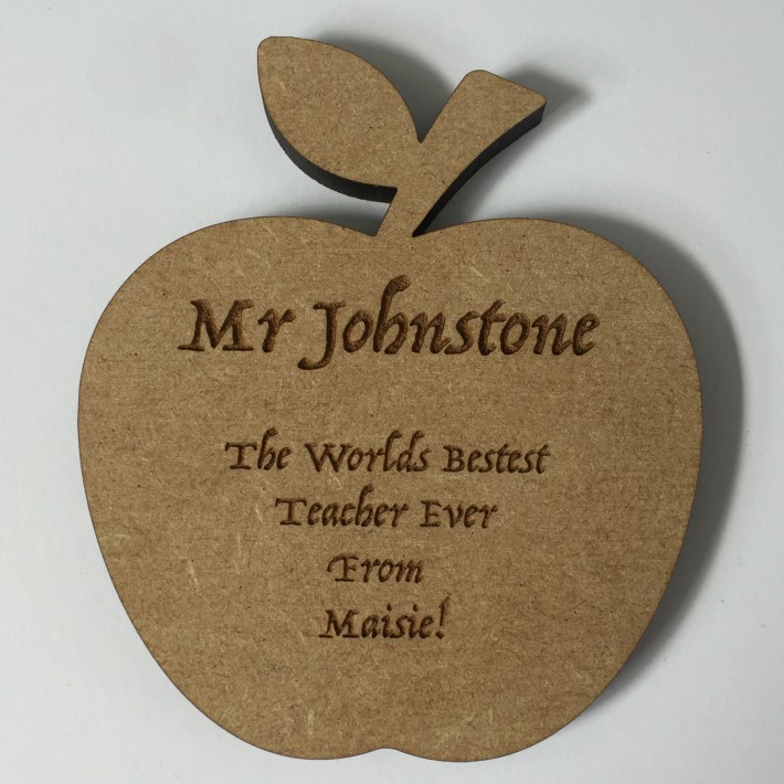'Apple for the Teacher' Coaster