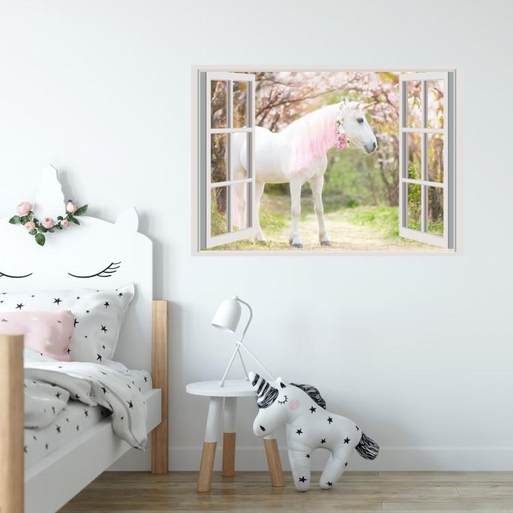 Vinyl Wall Art - Add Your Photo - Window Scene
