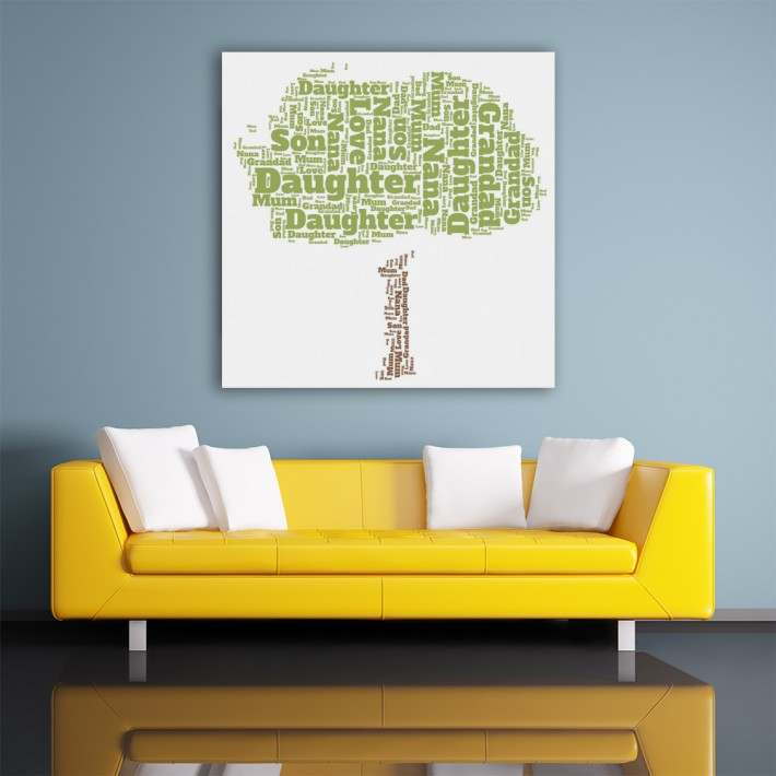 Wordart Canvas Prints